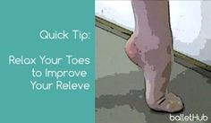 Video: Relax Your Toes to Improve Your Releve
