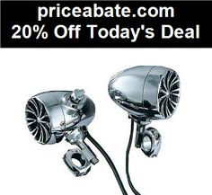 20% Off Kuryakyn Bluetooth Sound of Chrome Audio Kit for 1-1/4 Inch Bars Universal - eBay Daily Deal! - #priceabate! BUY IT NOW ONLY $377.13