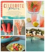 Pool Party Inspiration Board | Tiny Prints Blog