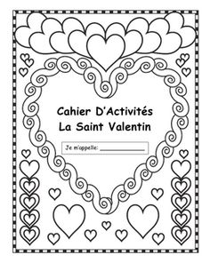 French Saint Valentine's Activities - for next year Valentine Activities, Valentine Day Crafts, Valentine History, Valentine Nails, Valentine Ideas, French Teacher, Teaching French, Communication Orale, Learn To Speak French