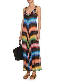Zigzag-stripe knit dress   Missoni Mare   MATCHESFASHION.COM UK