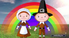 Thanksgiving Counting Songs for kids - Turkey Gobble Song - Littlestorybug