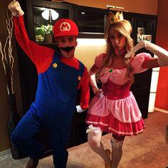 THE CUTEST Mario and Princess Peach EVER!!!