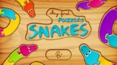 My First Puzzles - Snakes Snakes, Puzzles, Ipad, Puzzle, Snake, Jigsaw Puzzles