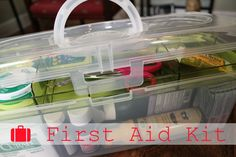 286 Best First Aid Kit images in 2017 | First aid kit, First