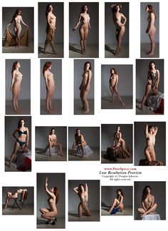New Vaunt #ArtModels Session. http://posespace.com/shop/DLSessions.aspx