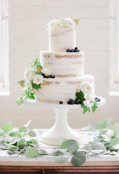 Pastel de boda desnuda Mayflour de los dulces de Boston
