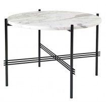 TS Lounge bord hvid marmor - Ø55
