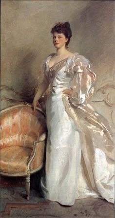 John Singer Sargent: love how he painted clothing