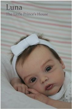 Sweet Livia Kit by Gudrun Legler Reborn Doll Baby Newborn Girl Sold Out Iiora
