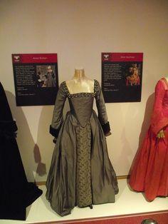 Anne Boleyn's execution gown from The Tudors.