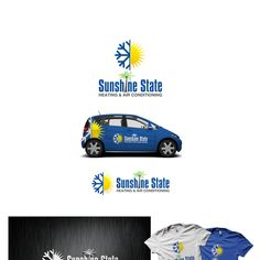 Sunshine State Heating & Air conditioning - Create a logo for an a/c and heating company in Florida