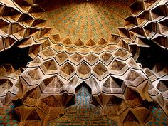 Isfahan/ Jame Mosque/ Ceilings