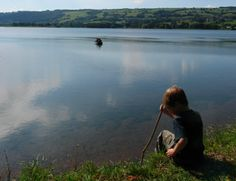 At peace on the water. Photo: Mendip Hills AONB
