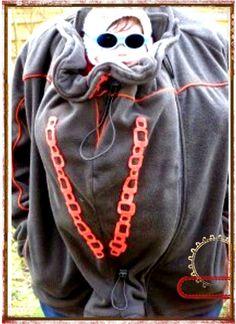 Tutoriel veste de portage à coudre - Petits Angelots Couture, Crochet, Fictional Characters, Scrappy Quilts, Paper Pieced Patterns, Pregnancy, Chrochet, Crocheting, Haute Couture