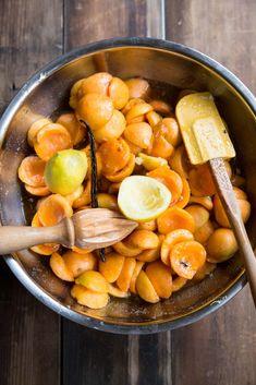 Maple Vanilla Apricot Jam Recipe - made with local Walla Walla apricots & fresh NYS Grade A Maple Syrup.