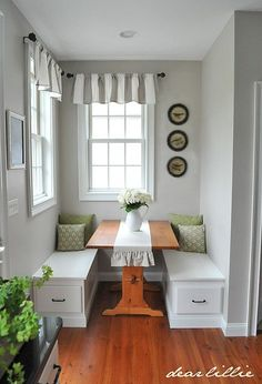 16 Awesome Do It Yourself Nooks and Banquettes Ideas 12