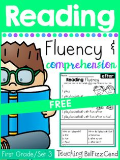 FREE Reading Fluency and Comprehension Set 3!