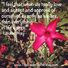 acceptance #compassion #inspiration #love #quote #selflove #truth #wisdom #selfacceptance #louisehay❤️☀️