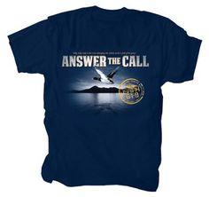 Anwer the Call Shirt, Navy, XXX-Large