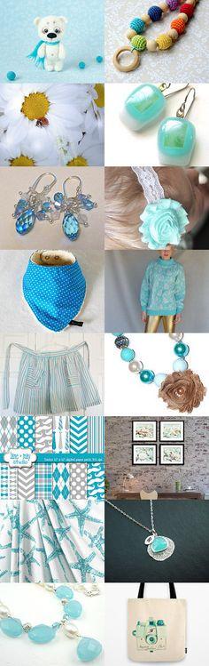Beautiful blue items - Magic by Liubov Stoliar on Etsy--Pinned with TreasuryPin.com