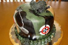 This sniper cake is sure to be a hit!
