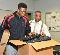 Grambling State University's College of Business is the proud recipient of a much needed technology upgrade. The COB is currently installing an excess of 100 Dell computers to replace old ones in three labs in the Jacob T. Stewart building.  The upgrade was funded by Louisiana's Workforce and Innovation for a Stronger Economy Fund or WISE fund.