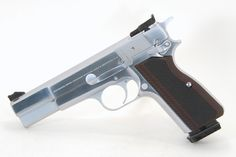 Browning (FN) Browning Hi Power Chrome - custom finish & sights
