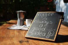 Table Chalkboard / Wood Chalkboard for desk / Kitchen Chalkboard pad / under 50 gift