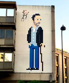 Something new from Invader in Paris France streetart streetartnews invaderwashere Urban Street Art, Urban Art, Street Culture, Street Art Graffiti, Banksy, Best Artist, Types Of Art, Artsy Fartsy, Paris France