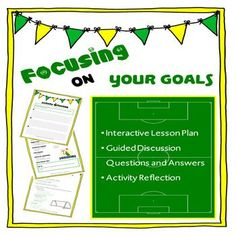 A fantastic activity which allows students to begin to understand the importance of having clear goals, and thinking about their futures.