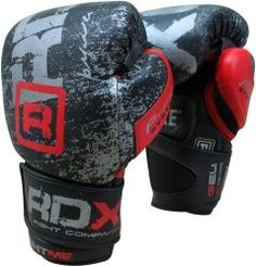 sale retailer bf1dd 1f455 Authentic RDX Leather Ultimate Boxing Gloves Fight,Punch Bag MMA Muay thai  Grappling Pads.