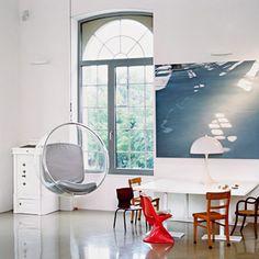 Adelta Bubble Chair 氣泡 懸掛 搖椅,Eero Aarnio (fI) 設計