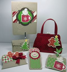 Stampin Up ideas using Scentsational stamp set and framelits. Love these!
