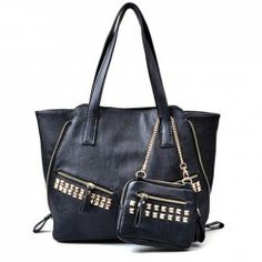 Sammydress #My Thanksgiving Wish List $12.40 Punk Style Women's Shoulder Bag With Rivets and Metallic Chain Design