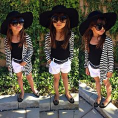 Love the big sun hat for my Elisabetta . Cute outfit idea for her