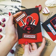 Cool Presents, Diy Christmas Cards, Happy B Day, Love You, My Love, Diy Cards, Diy And Crafts, Geek Stuff, Happy Birthday