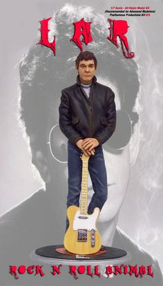Lou Reed Rock N Roll Animal 1/7 Scale Model Kit - Click Image to Close