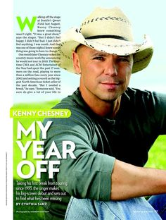 Kenny Chesney he is soo dreamy in any color or anything he wears!!
