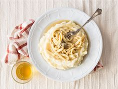 Serve these Iowa-style noodles and gravy over mashed potatoes.