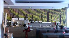 10 bottle Wine dispenser in a German tasting room