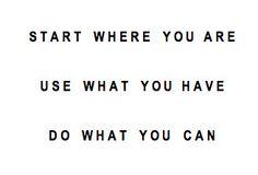Start   Use   Do