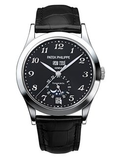 ...If I were a rich man, bittybittybum...    Patek Philippe Men's Annual Calendar (Ref. 5396G)