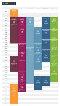 Timetable Responsive Schedule For WordPress on Behance App Design, Layout Design, Schedule Design, Schedule Templates, Class Schedule, Ui Website, School Timetable, Calendar Layout, Timeline Design