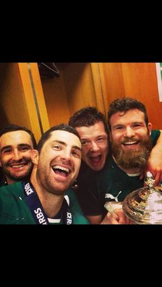 15 march the day we won the six nations ! Ireland Rugby, Irish Rugby, Six Nations, Oh My Love, Rugby Players, Raining Men, Champion, Celebrities, Boys
