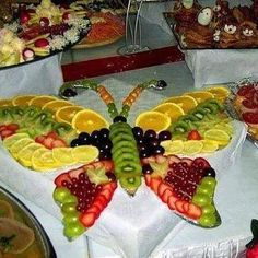 Edible Table Art!  How cool is this.....!!!....s #coupon code nicesup123 gets 25% off at  Provestra.com Skinception.com