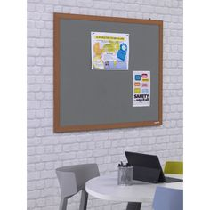 Eco Friendly Wood Effect Frame Notice Boards - Noticeboards Online - Buy Notice Boards And Whiteboards Online Wood, Light Oak, Recycling, Eco Friendly, White Board, Raw Materials, Industrial Waste, Oak, Frame