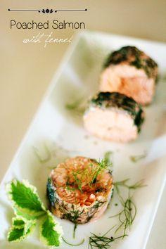 Poached salmon with fennel #chefmalhadinho