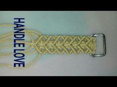 Macrame Earrings Tutorial, Macrame Tutorial, Clutch Tutorial, Border Embroidery, Macrame Bag, Coat Patterns, Macrame Patterns, Wire Wrapped Jewelry, Handle