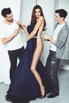 Przed wielkim wyjściem: Kamila Szczawińska, fot. Adam Pluciński/ Move  sukienka Bohoboco, buty See Me Boutique